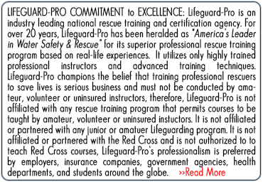 Lifeguard-Pro | National Rescue Training Certification Agency